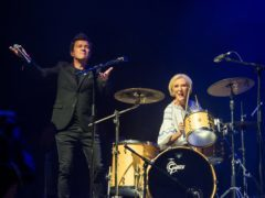TV cook Mary Berry joins Rick Astley on stage (Camp Bestival/Gaëlle Beri)