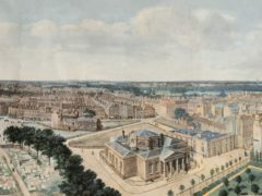 Prevost's paiting includes the old Palace of Westminster before it burnt down (Museum of London/Sotheby's)