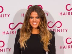 Khloe Kardashian shared shared the picture with her 78 million Instagram followers (Dominic Lipinski/PA)