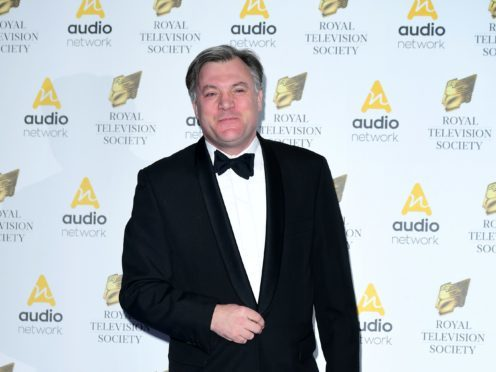 Ed Balls' spray tan caused a storm on Twitter (PA)
