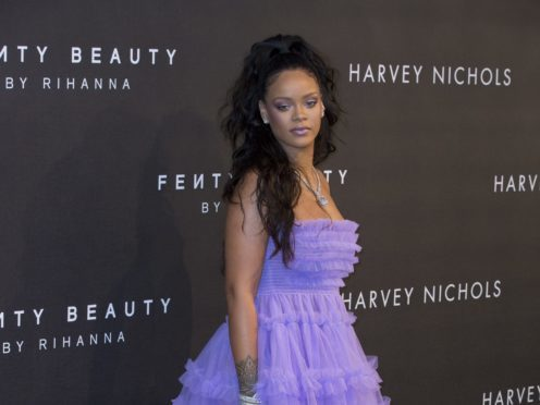 Rihanna has spoken about embracing her curvy figure (Isabel Infantes/PA)