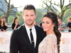 Mark Wright said he wants to start a family with his wife, Michelle Keegan, and would be happy to have triplets (Ian West/PA)