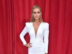 Catherine Tyldesley has thanked Coronation Street's crew and cast ahead of her exit from the soap (Matt Crossick/PA)