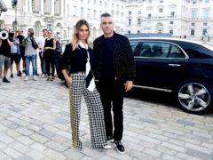 Robbie Williams and wife Ayda (Ian West/PA)