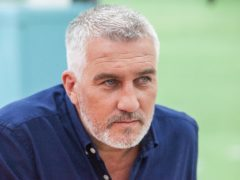 Embargoed to 0001 Tuesday August 21 Undated Channel 4 handout image of judge Paul Hollywood during recording of The Great British Bake Off 2018.