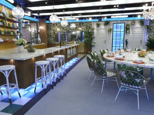 Lavish tropical luxury awaits the new Celebrity Big Brother contestants (Channel 5)