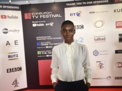 Michaela Coel gave the MacTaggart lecture on Wednesday evening (Edinburgh TV Festival)