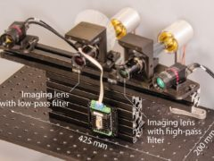 The device records high-quality images at a rate of 17 frames per second (OSA Publishing)