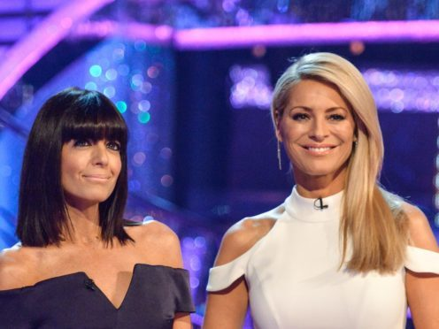 Strictly presenters Tess Daly and Claudia Winkleman (BBC)