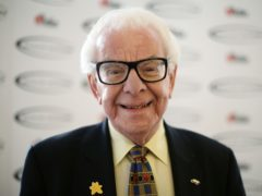 Barry Cryer has been recognised by the British Music Hall Society (Yui Mok/PA)