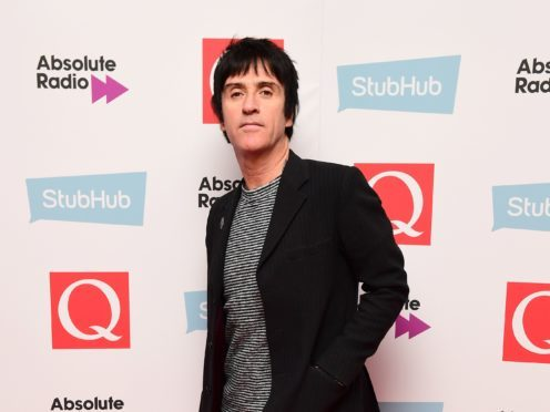 Johnny Marr was honoured at the ceremony (Ian West/PA)