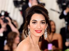 Amal Clooney has called for immediate pardons in the cases of two reporters jailed in Burma (Ian West/PA)