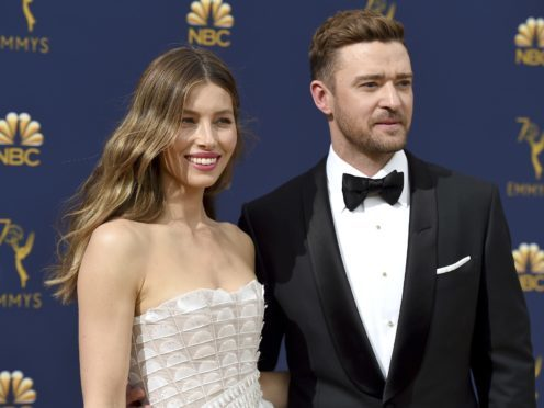 Jessica Biel shares a 'portrait of hungover woman'