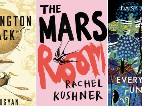 Washington Black by Esi Edugyan, The Mars Room by Rachel Kushner, Everything Under by Daisy Johnson composite (PA)