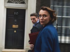 Bodyguard stars Keeley Hawes and Richard Madden (BBC/World Productions/Des Willie/PA)