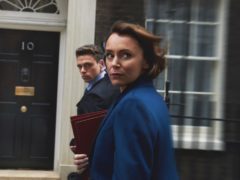 Keeley Hawes and Richard Madden star in Bodyguard (BBC/World Productions/Des Willie/PA)