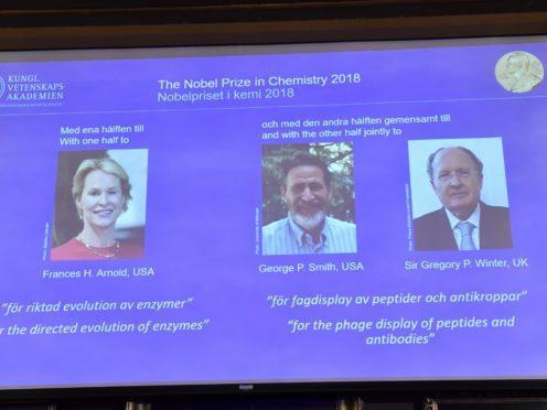 Better Living Through Evolution: Nobel Prize in Chemistry