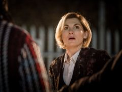 Jodie Whittaker has made her first outing as the Doctor (Ben Blackall/PA)
