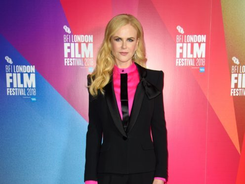 Nicole Kidman attending the Destroyer premiere (Matt Crossick/PA)