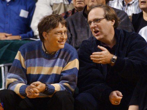 Bill Gates shares his memories of Paul Allen (AP Photo/Elaine Thompson)