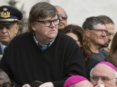Michael Moore has said Americans should not underestimate Donald Trump (Maurizio Brambatti/ANSA via AP)