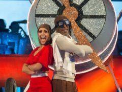 Danny John-Jules and his dance partner Amy Dowden (BBC/PA)