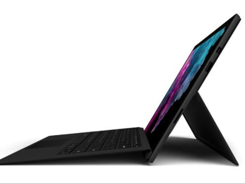 The new Surface Pro 6 is the latest version of its tablet-laptop hybrid computer (Microsoft)