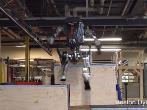 Boston Dynamics Atlas Robot Seen Doing Parkour Freakishly Well