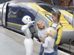 Pepper the robot is now helping Eurostar customers (PA/Eurostar)