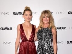 Kate Hudson wished her mother Goldie Hawn happy birthday as the Hollywood actress turned 73 (Ian West/PA Wire)