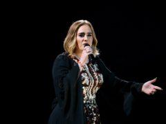 Adele was a Spice Girls fan back in her youth (Yui Mok/PA)