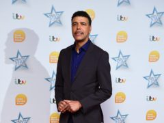 Football pundit Chris Kamara has enjoyed a night 'out on the town' with Hollywood star Channing Tatum (Ian West/PA Wire)