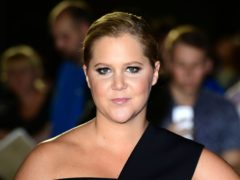 Amy Schumer shared a video of an ultrasound scan as she encouraged people to vote ahead of the US midterm elections (Ian West/PA)