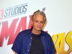 Michael Douglas said his latest role made him feel 'blessed' (Ian West/PA)
