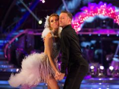 Strictly's Stacey Dooley and Kevin Clifton on 'pressure' of being favourites (Guy Levy/BBC)
