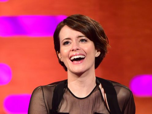 'Number one fan' Claire Foy delighted as she joins Boyzone on radio show (Ian West/PA)