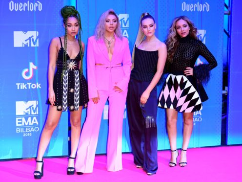 Leigh-Anne Pinnock, Jesy Nelson, Perrie Edwards and Jade Thirlwall of Little Mix (Ian West/PA)