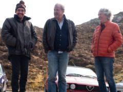 Richard Hammond, Jeremy Clarkson and James May (Amazon Prime Video).