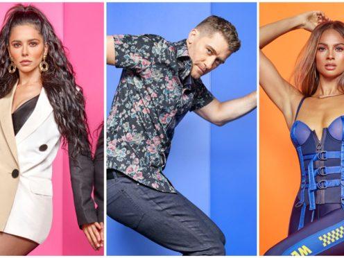 Cheryl, Matthew Morrison and Alesha Dixon (BBC/Syco/Thames/David Ellis)