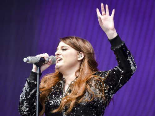 Meghan Trainor is now a married woman (PA)