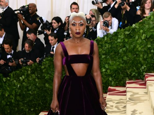 Cynthia Erivo apologised after forgetting the words to the US national anthem (Ian West/PA Wire)