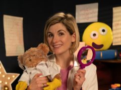 Jodie Whittaker reading a CBeebies bedtime story (BBC)