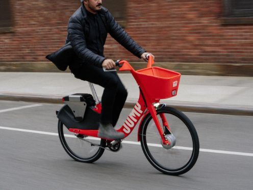 Jump e-bikes (Uber/PA)