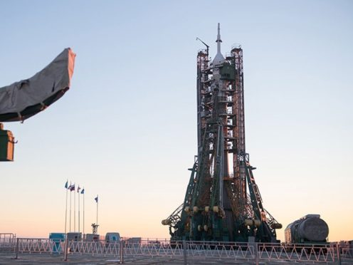 3-nation crew blasts off to space station