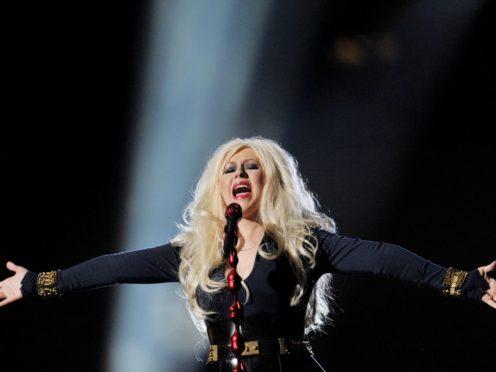 Christina Aguilera (Tim Ireland/PA)