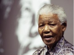 Nelson Mandela has been named as the greatest leader of the 20th century in a BBC poll. (Yui Mok/PA)