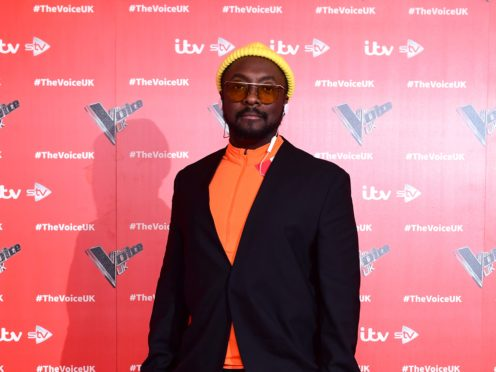 Will.i.am attending The Voice UK launch (Ian West/PA)