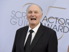 Alan Alda received a lengthy ovation from his peers (Photo by Jordan Strauss/Invision/AP)