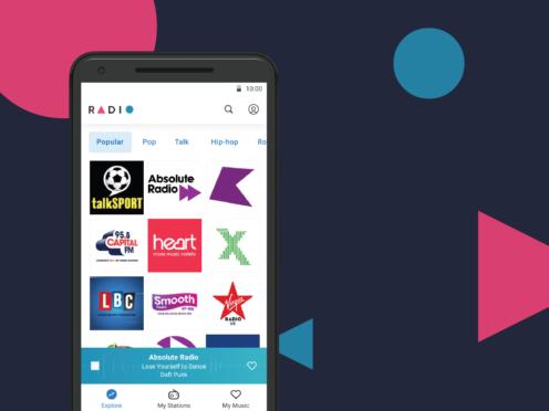 Radio by Deezer app (Deezer/PA)