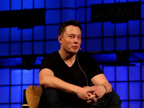 Elon Musk says he is proud of his SpaceX team (Brian Lawless/PA)